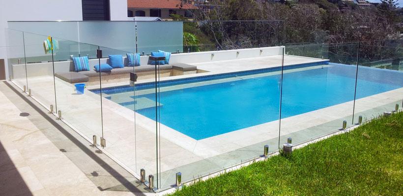 spigot frameless glass railings toronto